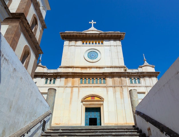 Igreja de santa maria assunta, em positano. Foto Premium