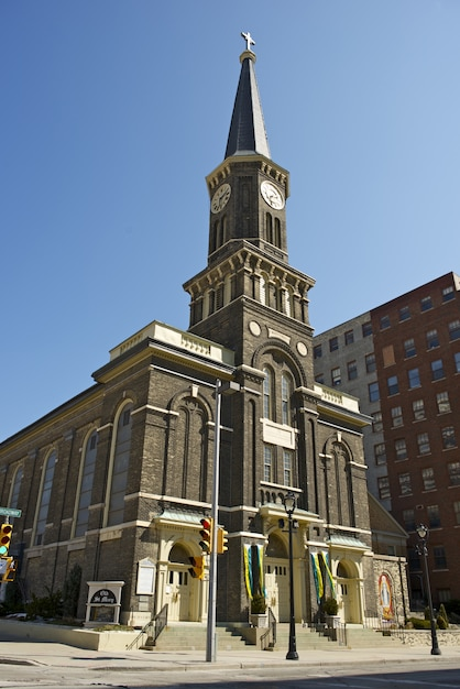 Igreja de são marys milwaukee Foto gratuita