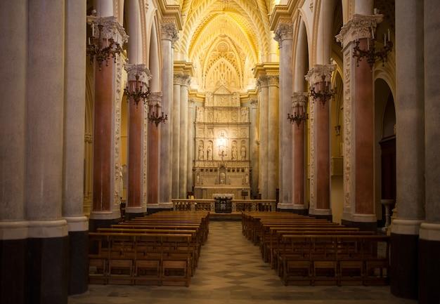 Igreja matriz, erice Foto Premium