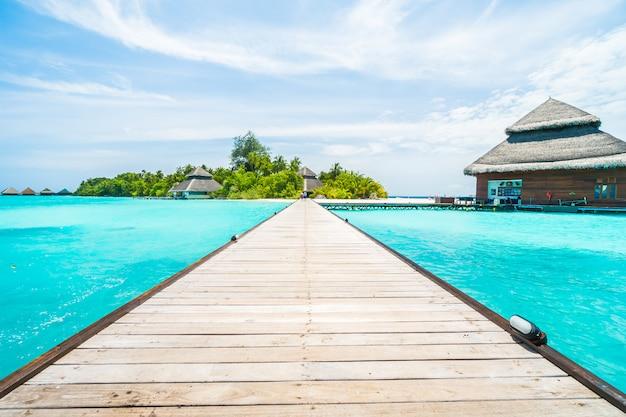 Ilha das maldivas Foto gratuita