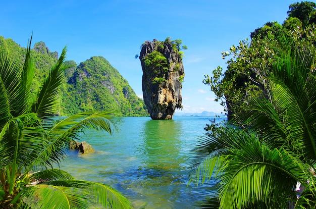 Ilha de james bond Foto Premium