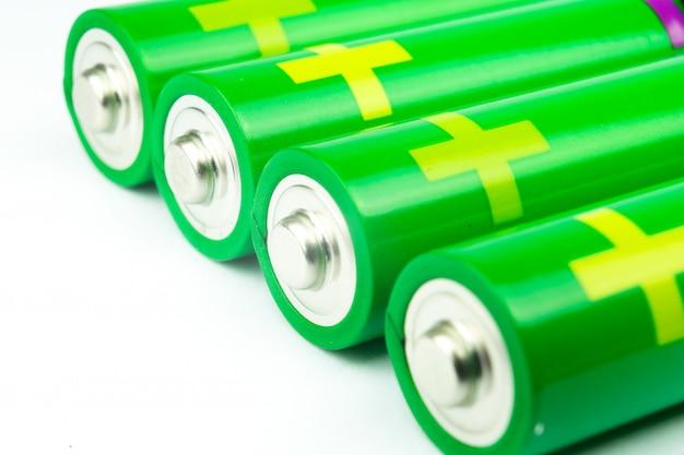 Iluminação de bateria alcalina Foto Premium