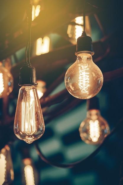 Iluminação para decoração Foto Premium