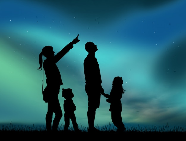 This image has an empty alt attribute; its file name is ilustracao-da-familia-procurando-aurora-boreal_86500-31.jpg