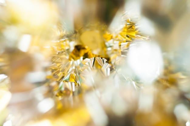 Imagem de fundo abstrato de ouro e prata Foto Premium