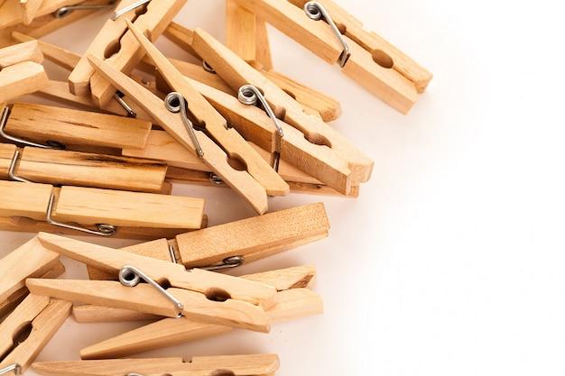 Imagem do close up de prendedores de roupa eco Foto gratuita