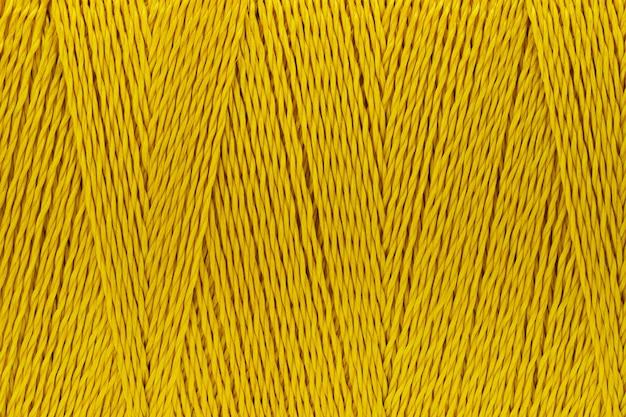 Imagens de macro de fundo de cor de textura de fio de ouro Foto Premium