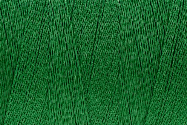 Imagens de macro de fundo de cor verde textura de fio Foto Premium