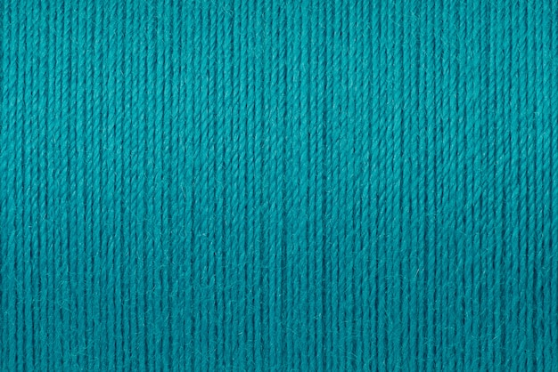 Imagens de macro de fundo de textura de fio turquesa Foto Premium