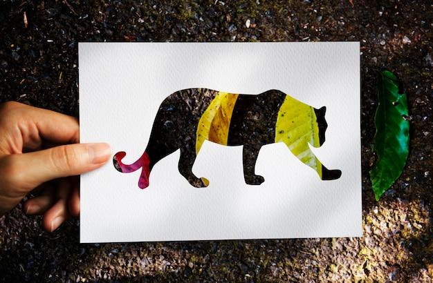 Instinto animal natural sobreviver vida selvagem Foto gratuita