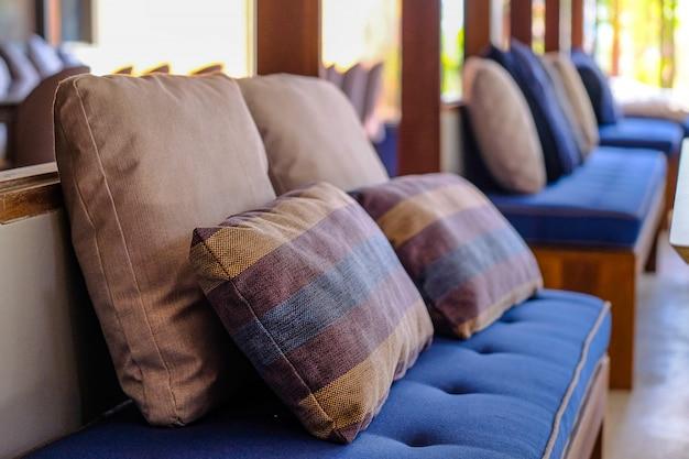 Interior contemporâneo da sala de estar Foto Premium