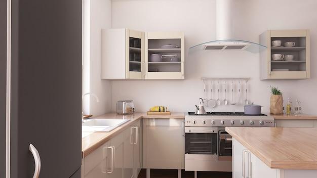 Interior da cozinha Foto gratuita