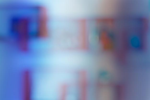 Interior de escritório sem foco desfocar o fundo Foto Premium