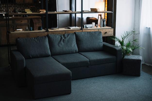 Interior de uma moderna sala de estar Foto gratuita