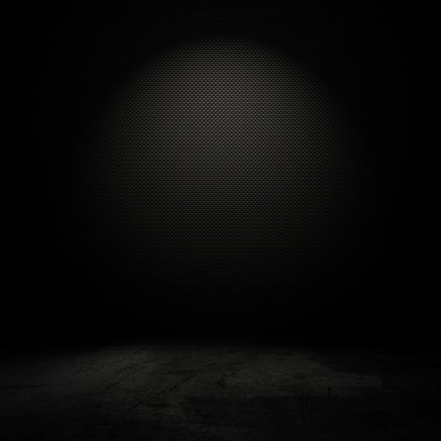 Interior do estilo do grunge com luz do ponto suave Foto gratuita