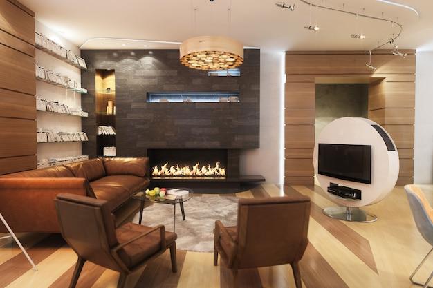 Interior moderno Foto Premium