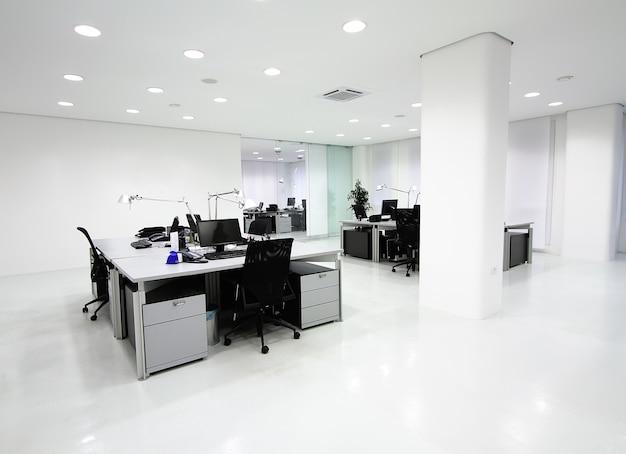 Interor do escritório moderno Foto Premium