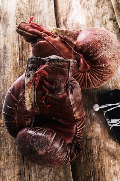 Inventário esportivo Foto gratuita