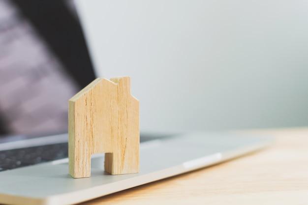 Investimento imobiliário e hipoteca da casa conceito financeiro imobiliário Foto Premium