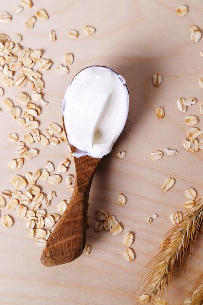 Iogurte delicioso Foto gratuita
