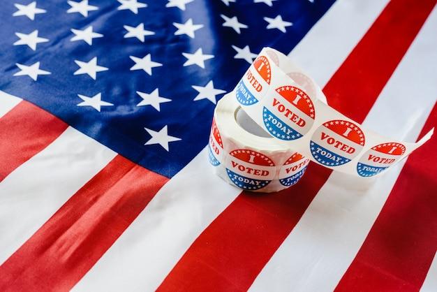 Já cumpri o dever de votar hoje nas eleições americanas. Foto Premium