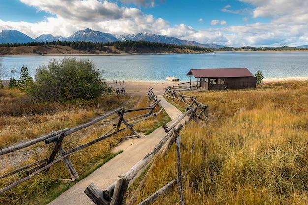 Jackson lake Foto Premium