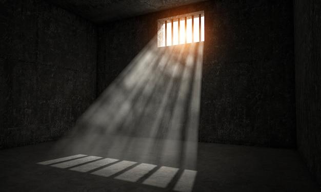 Jail ponto de vista Foto Premium