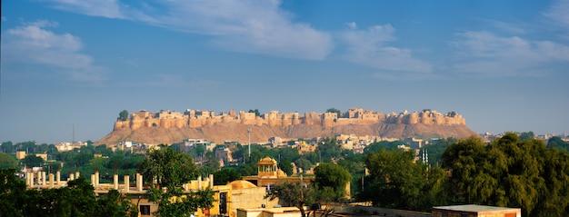 Jaisalmer fort, conhecido como o golden fort sonar quila, jaisalmer, índia Foto Premium