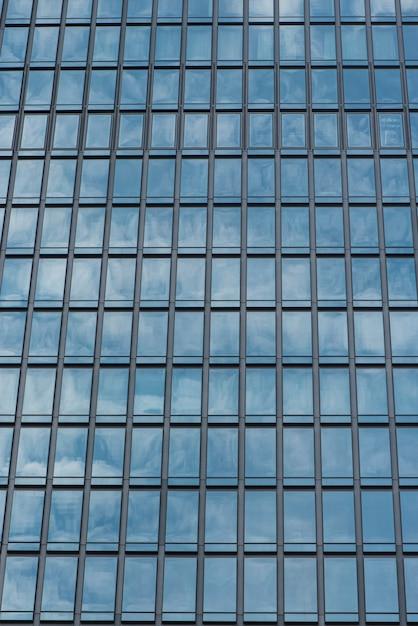 Janelas de vidro do edifício Foto gratuita
