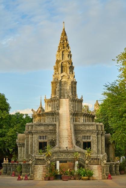Jardim cambodia férias férias religião Foto gratuita