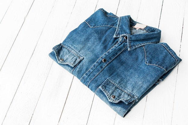Jeans azul Foto Premium