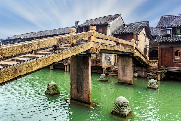 Jiangnan water town, wuzhen Foto Premium