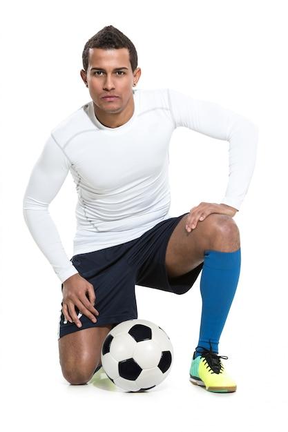 Jogador de futebol Foto gratuita