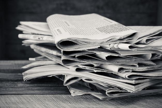 Jornais e revistas Foto Premium