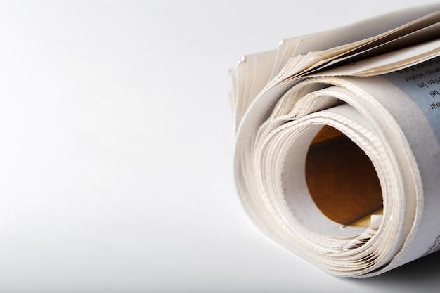 Jornal de perto Foto Premium