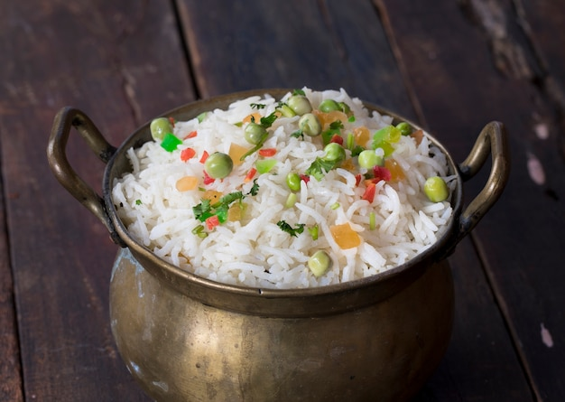 Kashmiri pulav Foto Premium