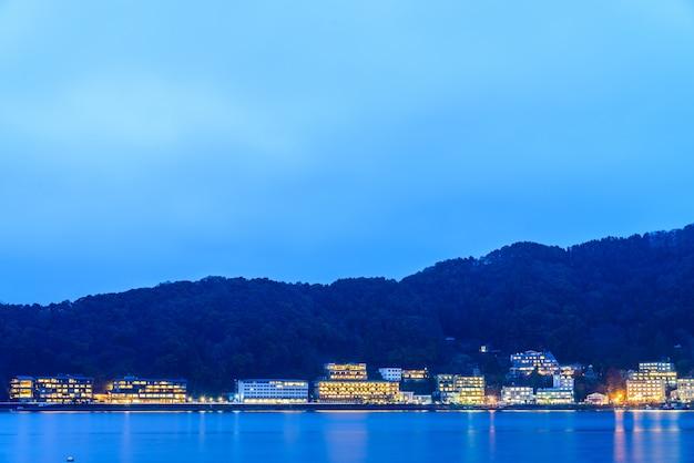 Kawaguchiko city Foto gratuita