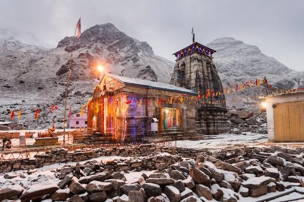 Kedarnath na índia Foto Premium