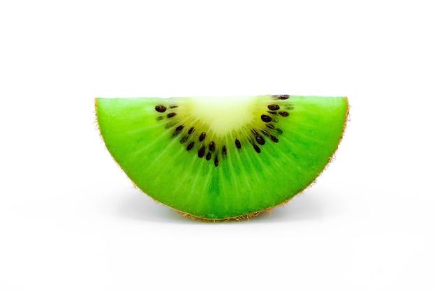 Kiwi isolado no branco Foto Premium