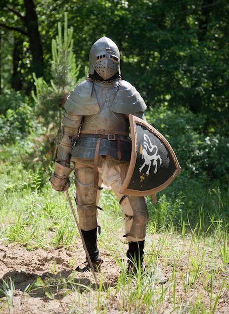 Knight in armor Foto gratuita