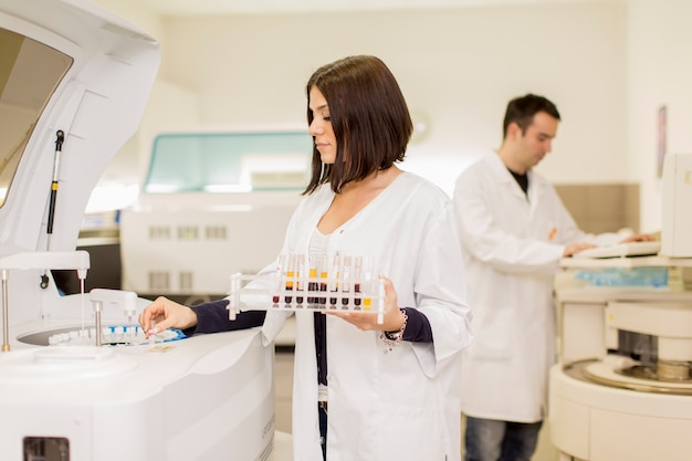 Laboratório médico Foto Premium