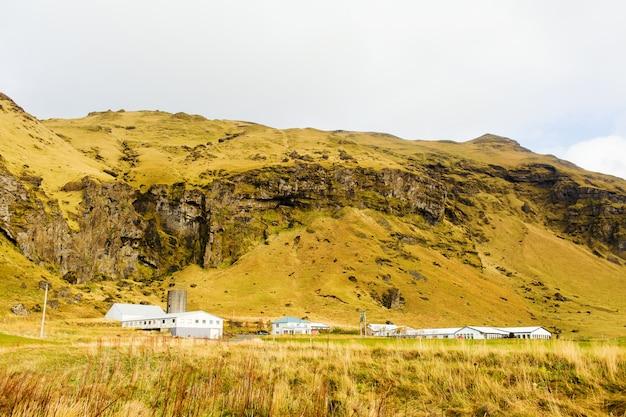Lado do país islandês Foto gratuita