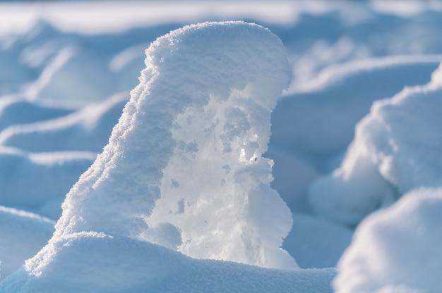 Lago baikal no inverno na sibéria Foto Premium