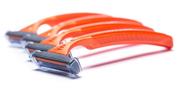 Lâminas de barbear Foto Premium