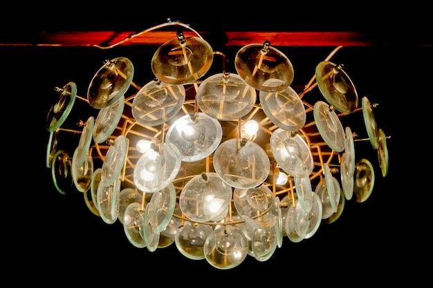Lâmpada de luz de estilo moderno Foto Premium