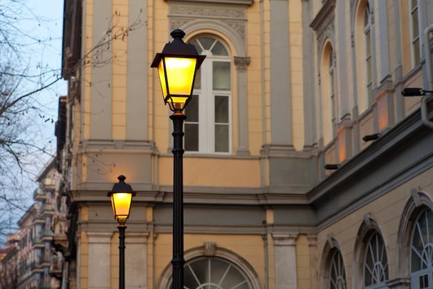 Lâmpadas de rua Foto Premium