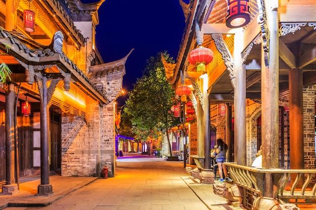 Lanternas de viagem cidade arquitetura histórica Foto gratuita