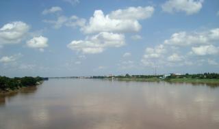 Laos do rio mekong Foto gratuita