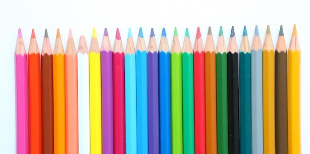 Lápis de cor Foto Premium