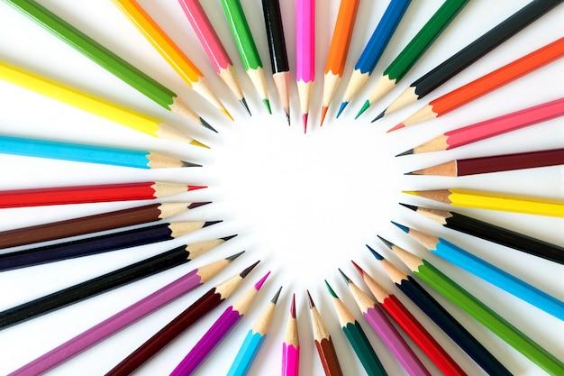 Lápis no amor. Foto Premium